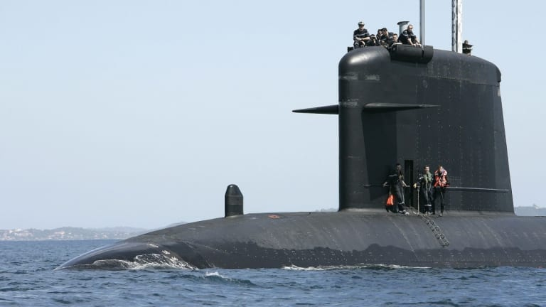 A French Nuclear Attack Submarine 'Sunk' a U.S. Navy Aircraft Carrier