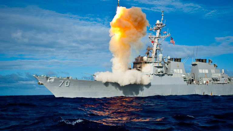 Navy Builds First New DDG 51 Flight III Destroyer in May