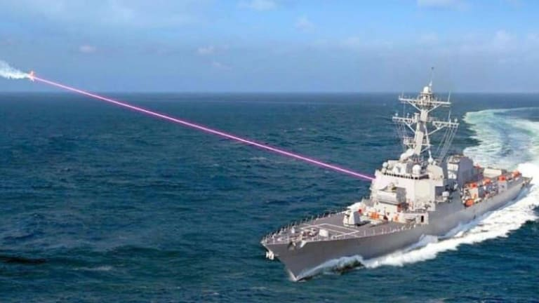 Amphib and Destroyer-Fired Navy Lasers Will Destroy Attacking Cruise Missiles