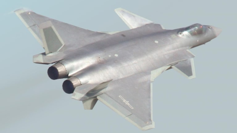 Why China's Stealth Fighter Can't Touch an F-22 or F-35 in Battle