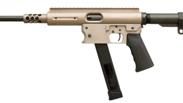 How is the TNW Aero Survival Rifle is a pistol caliber carbine