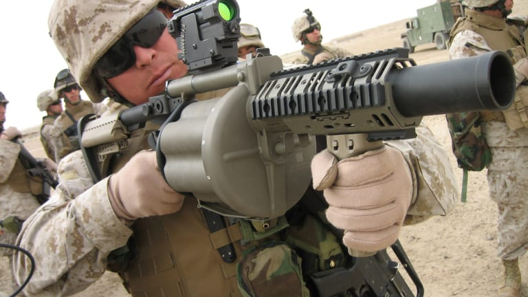 The Pentagon Planned to Turn Grenade Launchers Into Nonlethal Air Cannons