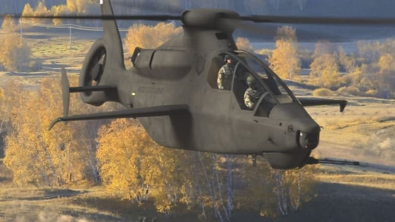 Cloaked & Stealthy: Next Gen U.S. Helicopters May Prove Elusive to Enemy Radar