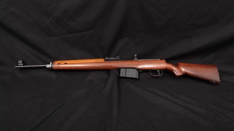 A Nazi Rifle...Karabiner 43.. Germany Hoped Would Win World War II