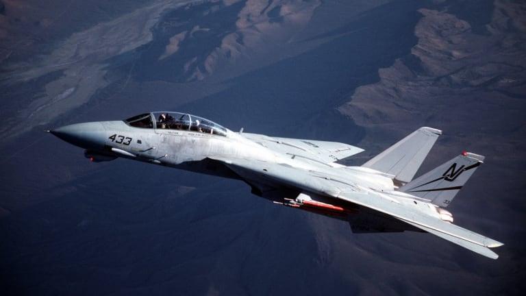 US F-22 Raptor vs Iranian F-14 - Air War between US & Iran