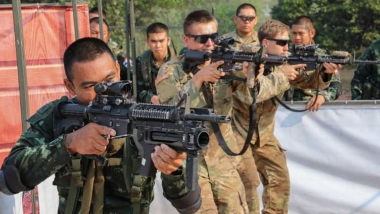 Soldiers Train With Allies to Survive the Jungle