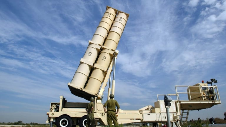 Pentagon & Israel Test Fly Arrow 3 Missile Defense Interceptor