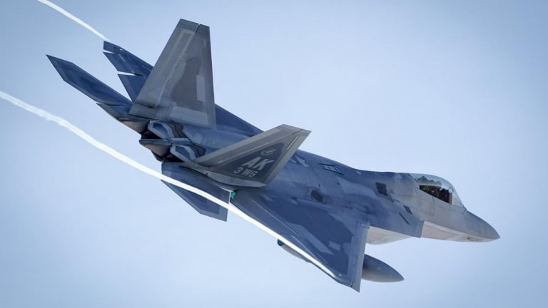 Why the U.S. Air Force Just Launched 24 Stealth F-22 Raptors Into the Sky