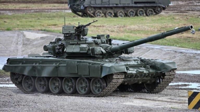 Russian T-90 vs US Javelin Anti Tank Missile