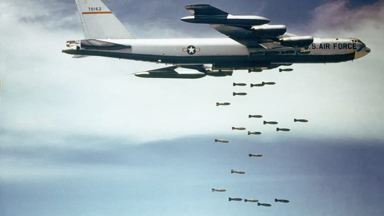 """Air Force Surges """"Bomber Task Force"""" Attack Training in Pacific"""