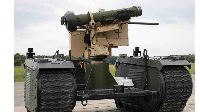Army Fires Tank Killing Robots Armed With Javelin Missiles