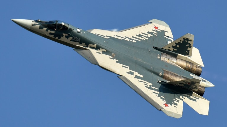 New Russian Su-57 Stealth Fighter to Control Drones & Fire Hypersonic Weapons