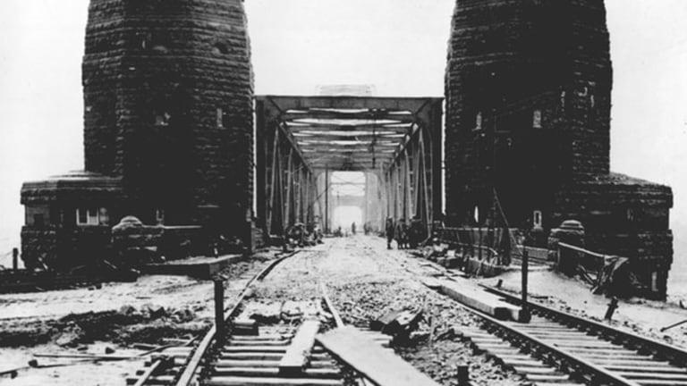 Allied Progress Through Nazi Occupied Europe