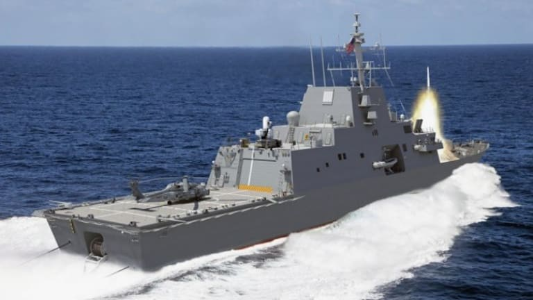 Navy Pursues New Weapons, Sensors & Strategies for New Frigate - 2023