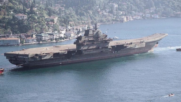 Thanks to Russia, China Got the Technology to Build Aircraft Carriers