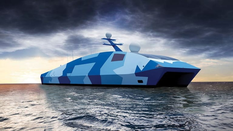 Future Navy Drone Boats Will Get Advanced Weapons & Radar