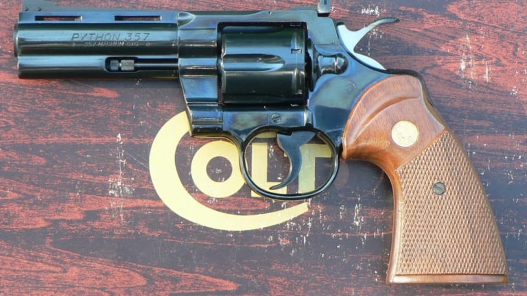 The Colt Python Was the Perfect Revolver