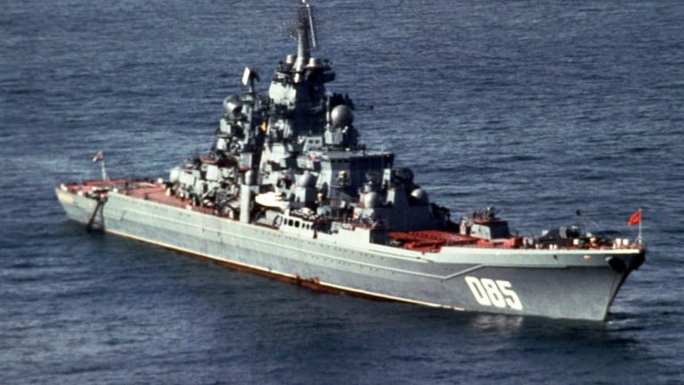 Battlecruisers Are Back: Russia is Resurrecting the Soviet Navy's Most Powerful