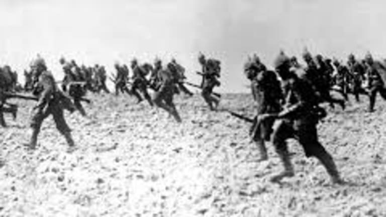 A German Prince Ordered 100,000 Soldiers to Charge With Bayonets