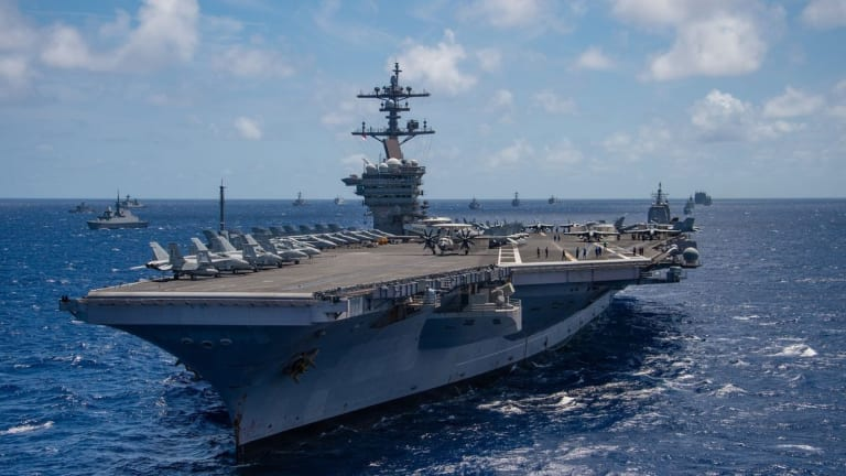 """Chinese Paper Says U.S. Carriers at Risk With """"Carrier-Killer"""" Missile"""