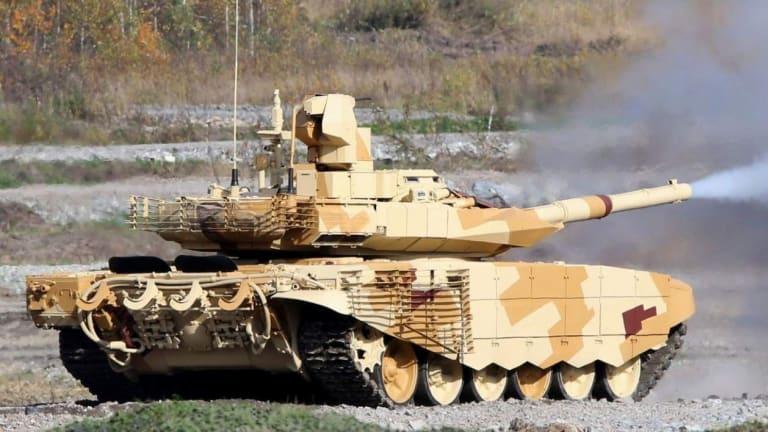 Russian T-90 vs American Abrams Tank