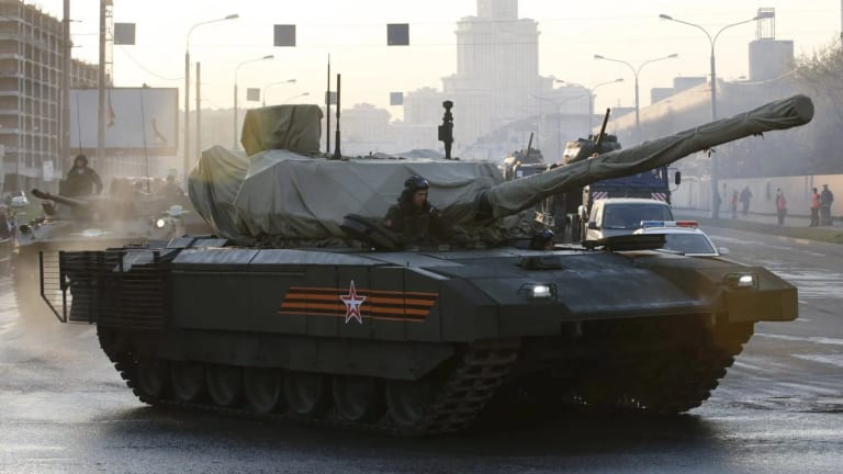 Russia's New Armata Tank Could Get a Bigger Main Gun