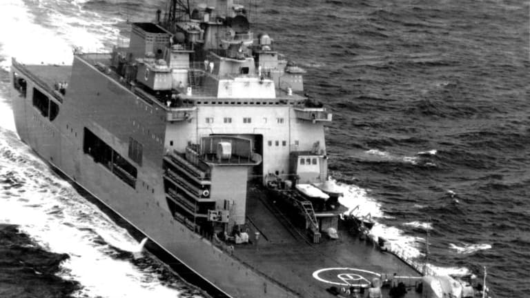 Russia is building a amphibious assault ships for their Marines