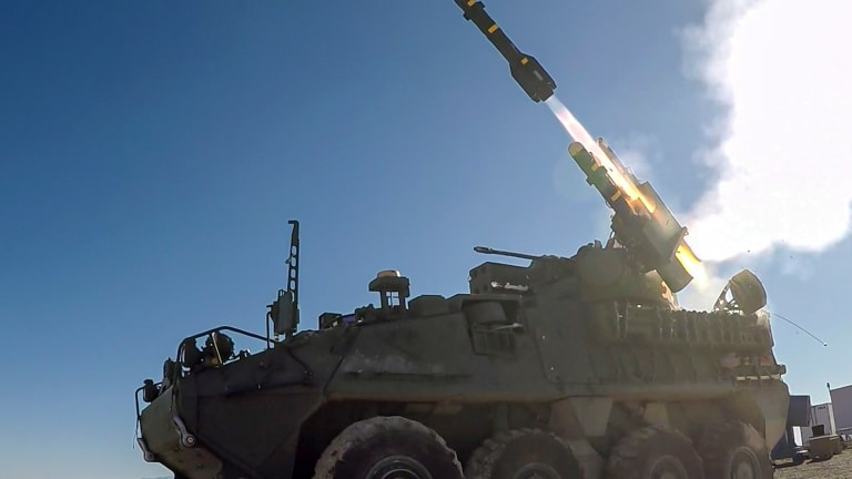 Army Revs Up Force With Hellfire & Stinger Missile-Armed Stryker Vehicles