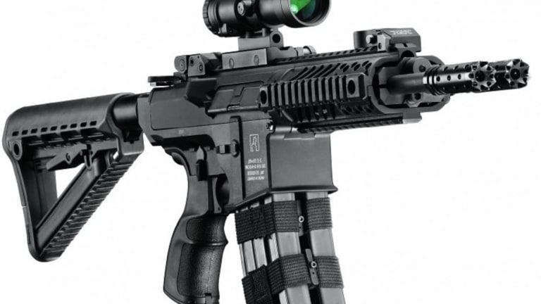 This AR-Type Rifle Can Fire Two Bullets Simultaneously