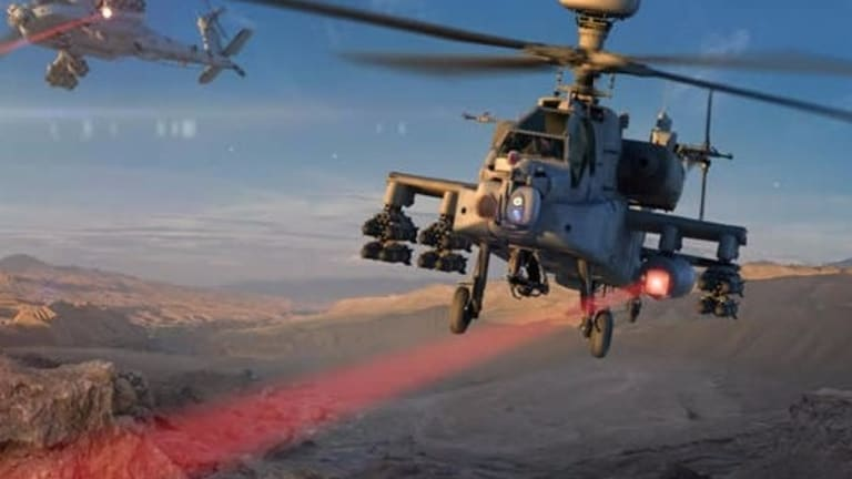 Army Achieves New High-Powered Laser Weapon Breakthrough