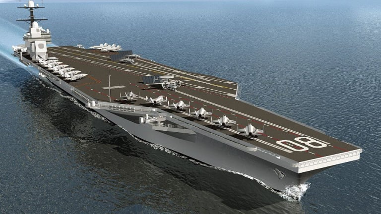 The Cutting Edge Technology That's Building the Navy's 3rd Ford Class Carrier