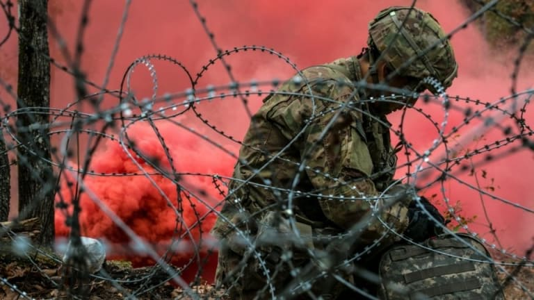 The 27 most powerful images of the US military in 2018