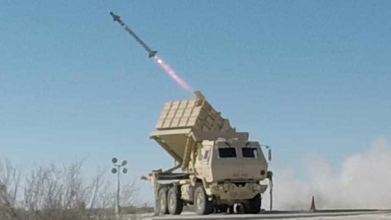Army Fires Ground-Launched HELLFIRE Missile