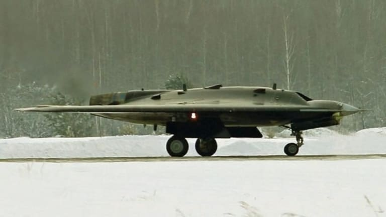 Russia to Deploy New Stealth Drone - Okhotnik