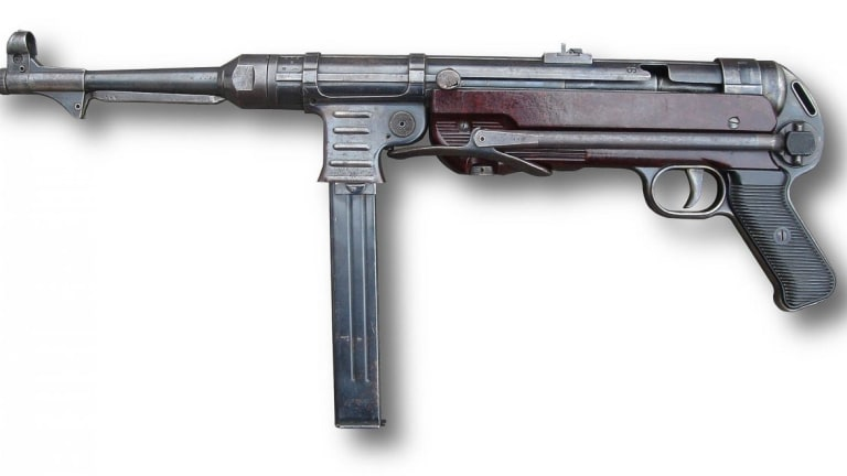 This Was One of the Best Submachine Guns of World War II