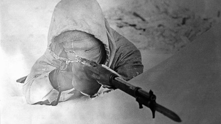This Talented Sniper was Known as 'The White Death'