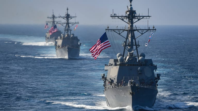 Navy Arms First New Flight III Destroyer With Next-Gen Weapons