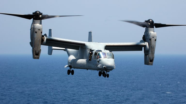 Marine Corps to Fly Osprey to 2060 -  Preps Aircraft for Future Wars