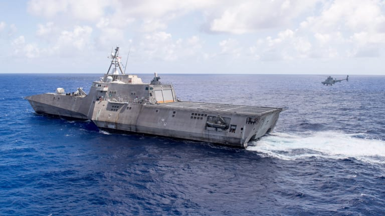 Littoral Combat Ship War Network to Use Artificial Intelligence