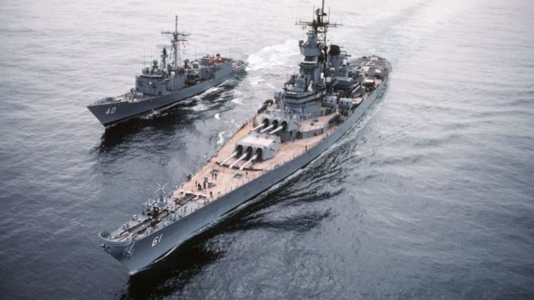The U.S. Nearly Had Super Battleships: 65,000 Tons of Terror