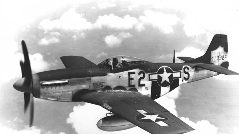 How the U.S. got Fighter Planes to the Front During WWII