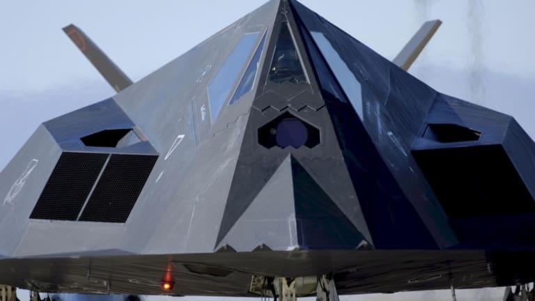 America's Retired F-117 Nighthawk Stealth Fighter Could Still Bomb Iran