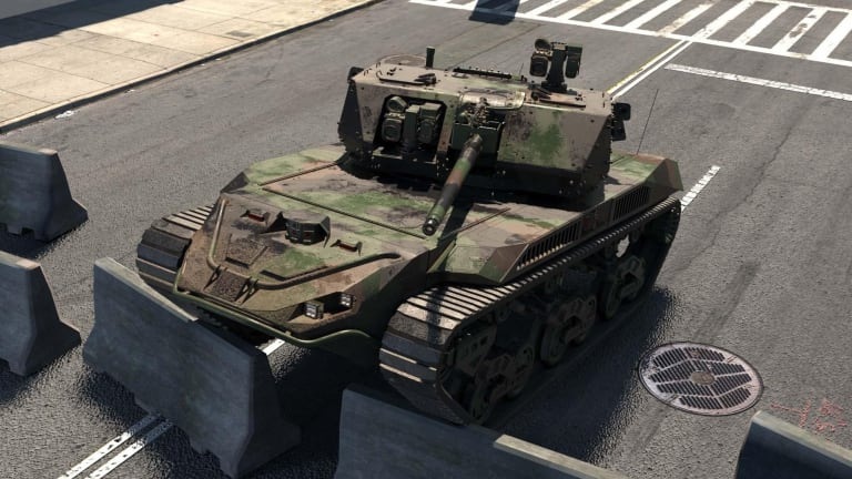 Soldier-Controlled Autonomous Robots Call for Fires in Test, Attack Targets