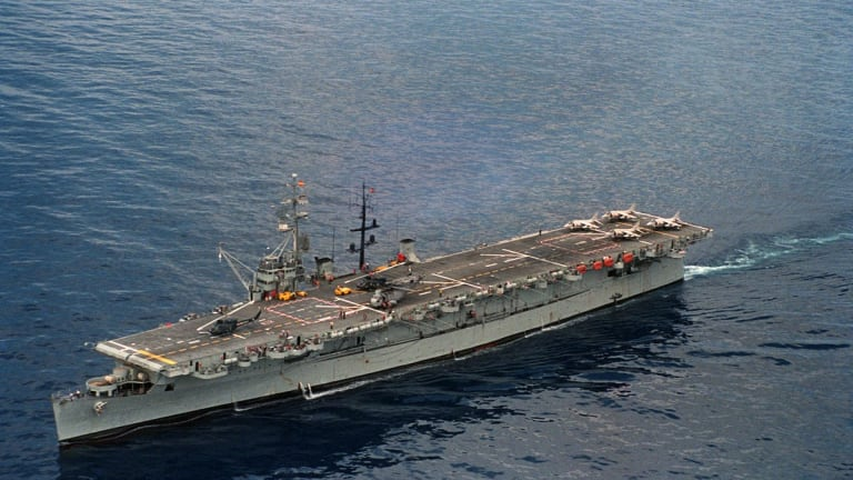 The Real Story of Why the Navy Hates 'Small' Aircraft Carriers