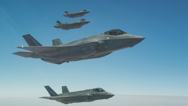 Now Operational Australian F-35s & U.S. Navy Ships to Keep China in Check