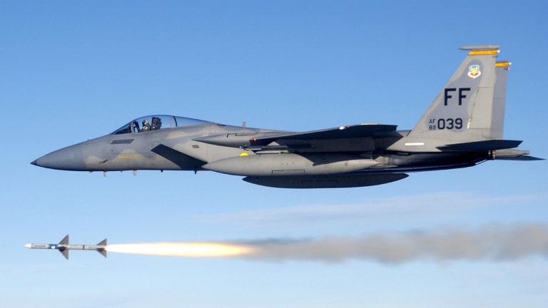 U.S. F-15s Fire Air-Ground Missiles Near Baltic Sea To Deter Russia