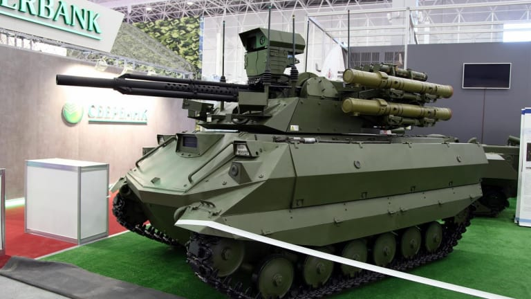 Russia vs. America: Which Nation Will Dominate Unmanned Ground Vehicles?