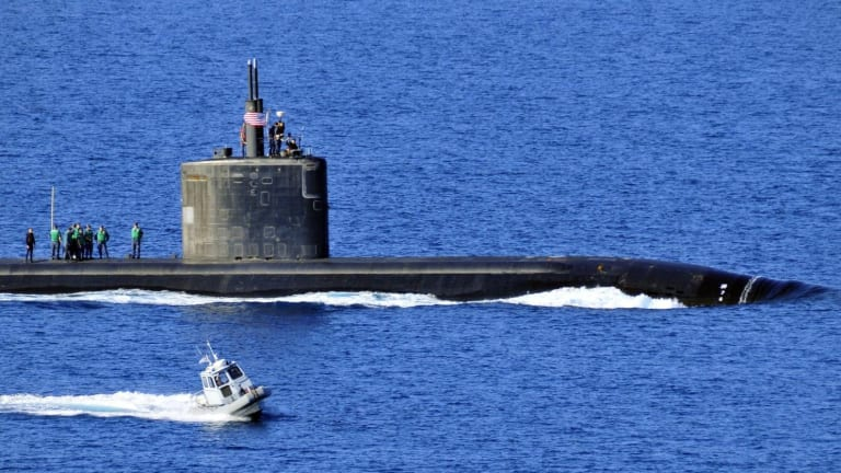 The US Navy's new submarine fleet commander vows to take on Russia and China