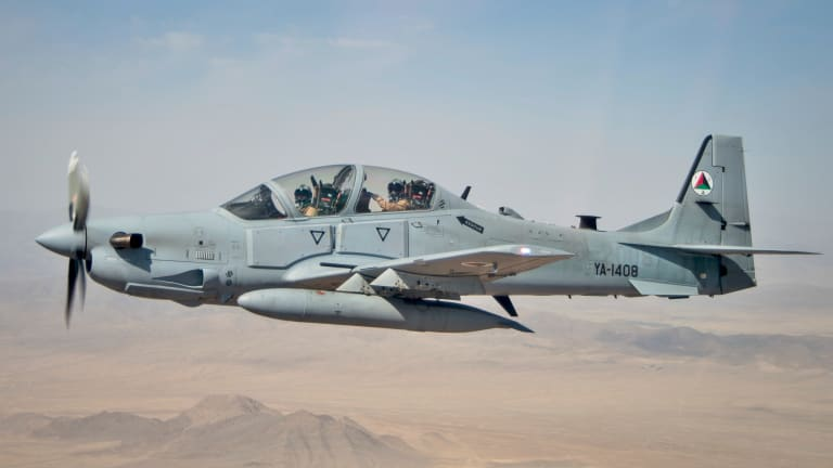 US Special Ops Want A-29 Super Tucanos to Attack Terrorists in Africa