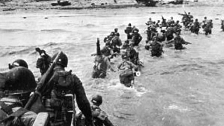 "Navy D-Day Utah Beach Amphibious Attack Achieves ""Tactical Surprise"""